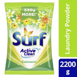 Surf Kalamansi Laundry Powder Detergent 2.2KG Pouch