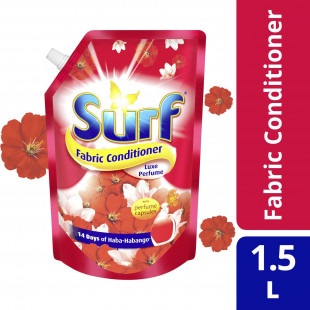 Surf Fabric Conditioner Luxe Perfume 1500ML Pouch