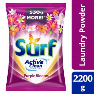 Surf Powder Detergent Purple Blooms 2.2KG Pouch